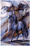Inspired By The Five Winds Small Prints (Click for options & image enlargement)