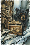 Gifts Of The Salmon People Small Prints (Click for options & image enlargement)