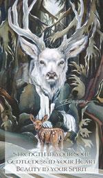 Deer / Wildheart - Mailable Mini