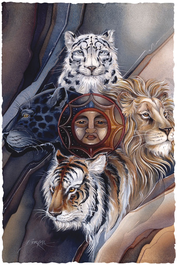 Circle of Fire & Protection - Prints