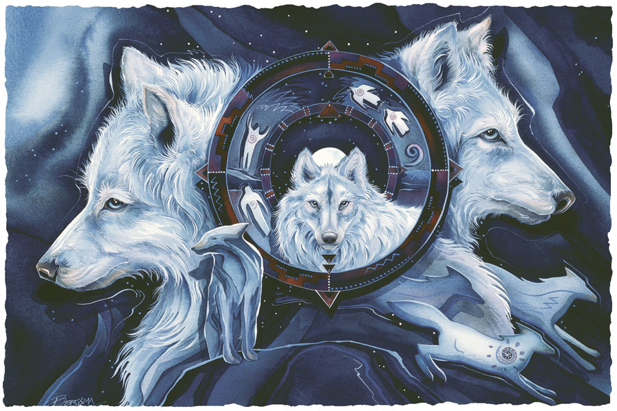 Wolves / Wolf Gate - Art Card