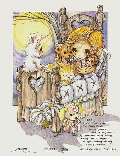 Love Is... - DreamKeeper Print