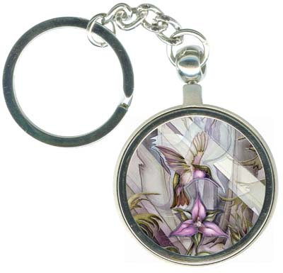Hummingbirds / Jewel - Key Chain