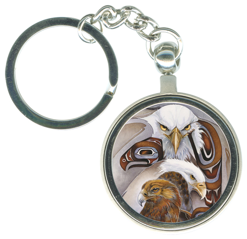 Eagles (Bald) / Eagle Spirit - Key Chain