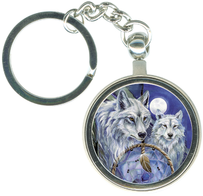 Wolves / Nothing Can Hold Back A Dream - Key Chain