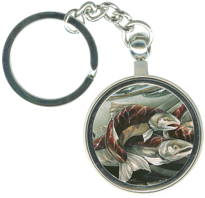 Fish (Salmon) / The Journey Home - Key Chain