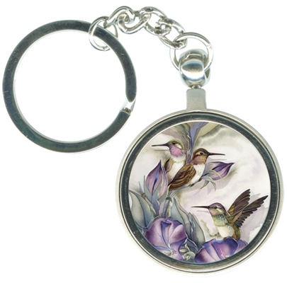 Hummingbirds / Hummertime - Key Chain