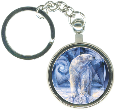 Bears (Polar) / In Following Dreams... - Key Chain