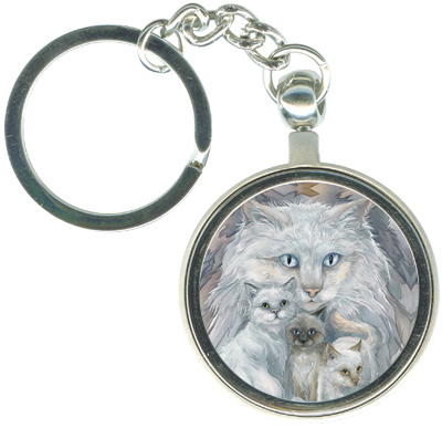 Cats / Soul Friends - Key Chain