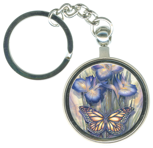 Butterflies / A New Day Has Come - Key Chain