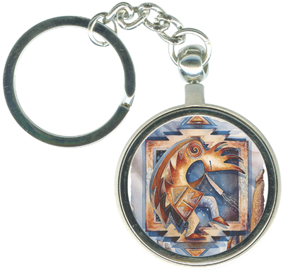 Native American / Just Keep Dancing! - Key Chain