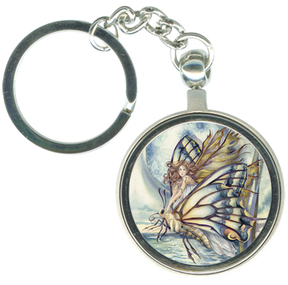 Faeries / Chrysalis... Who Knows What Magic... - Key Chain
