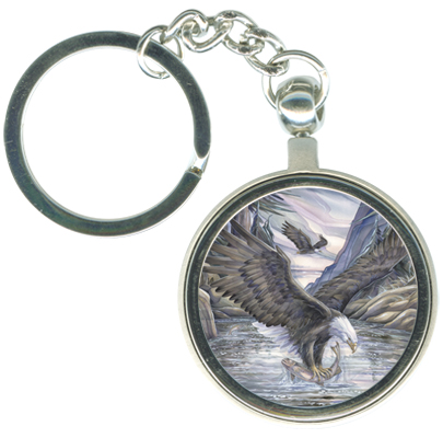 Eagles (Bald) / Hunt For Survival - Key Chain
