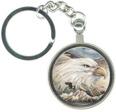 Eagles (Bald) / Your Majesty - Key Chain