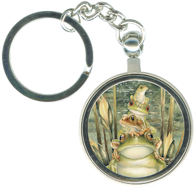 Frogs / Top Frog - Key Chain
