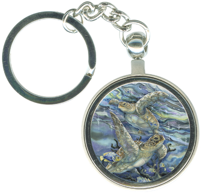 Turtles / Sea Tranquility - Key Chain