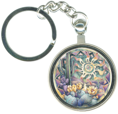 Southwest / Let The Sun Shine In - Key Chain