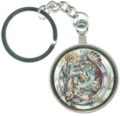 Native American / Happy Dance! - Key Chain