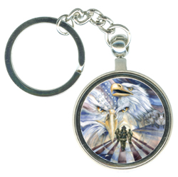 Eagles (Patriotic) / Tribute - Key Chain