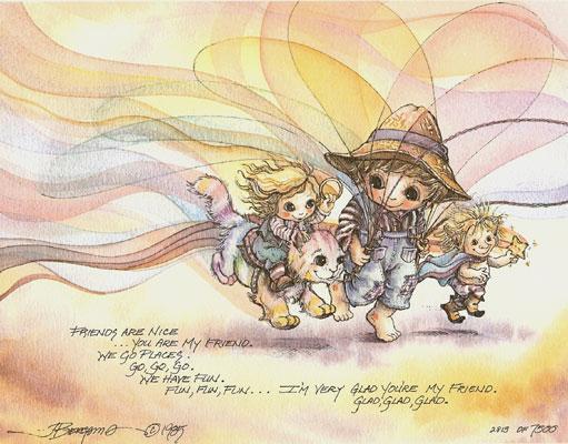 Friends Are Nice... - DreamKeeper Print