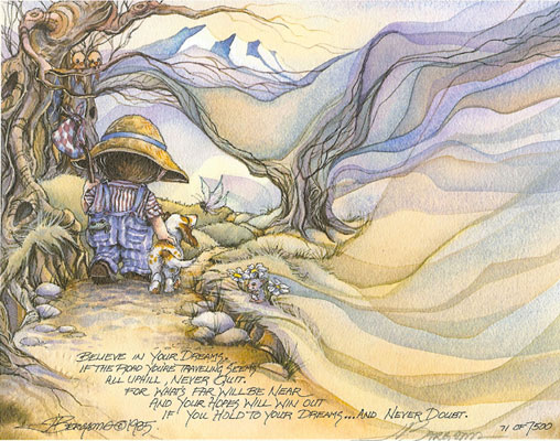 Believe In Your Dreams - DreamKeeper Print