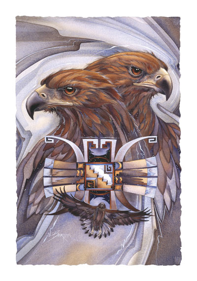Eagles (Golden) / Sky Gods - Art Card