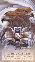 Eagles (Golden) / Sky Gods - Mailable Mini