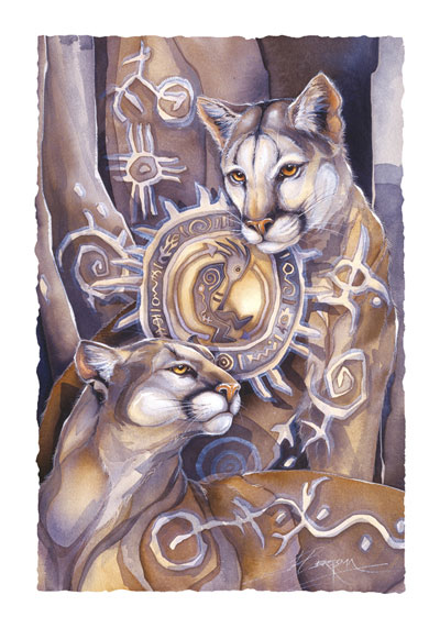 Wild Cats / Purpose & Passion - Art Card