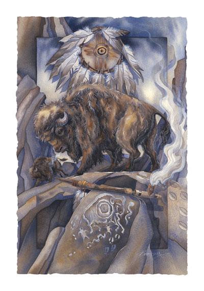 Buffalo / Against All Odds - Art Card