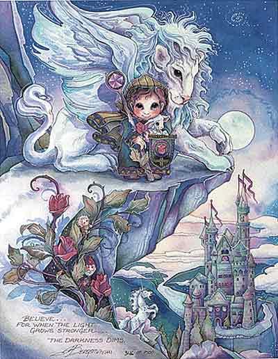 Believe... - DreamKeeper Print