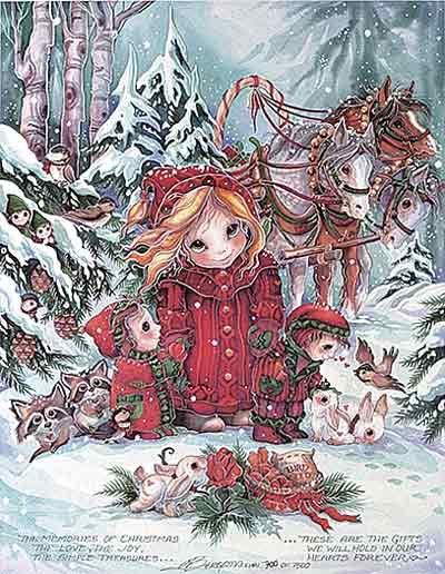 The Memories Of Christmas... - DreamKeeper Print