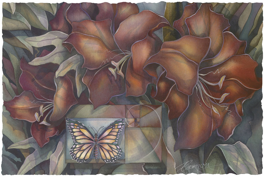 Butterflies / Prayer For A Perfect World - Art Card
