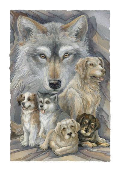 Dogs / Companions - Art Card