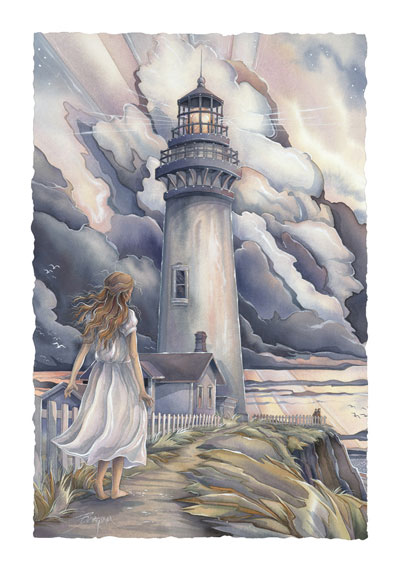 Lighthouses / A Light After The Storm - Art Card