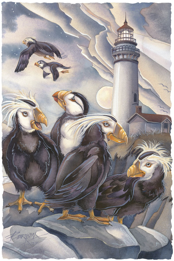 Puffin Light - Prints