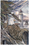In The Company Of Eagles Large Prints (Click for options & image enlargement)