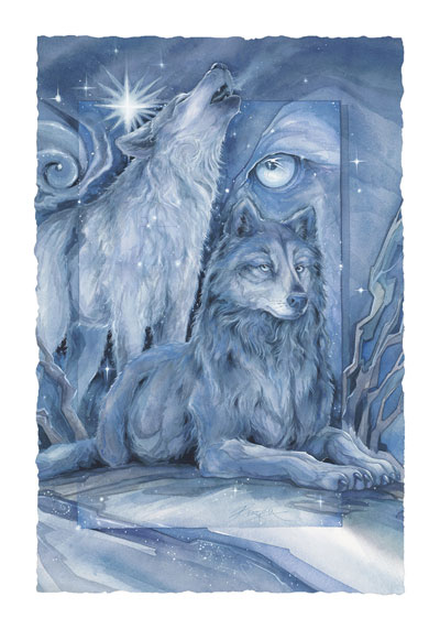 Wolves / When You Dream... - Art Card