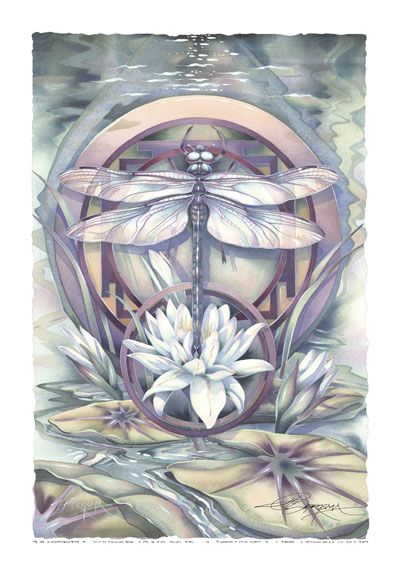 Dragonflies / Mystery - Art Card