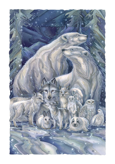 Multiple Animal Types / All Things Bright & Beautiful - Art Card