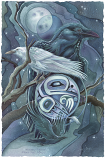 Raven Moon...Touch The Magic Small Prints (Click for options & image enlargement)