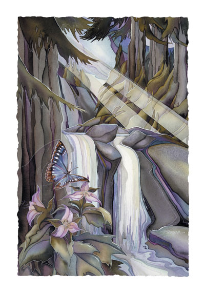 Butterflies / May The Forest Be With You - Art Card