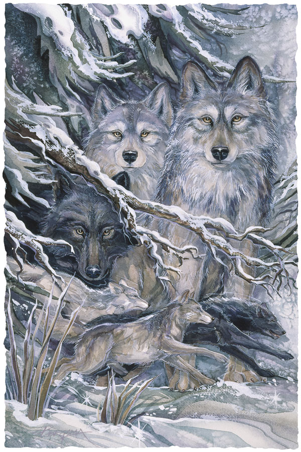 The Power Of The Pack - Prints