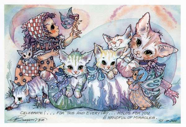 Celebrate!... - DreamKeeper Print