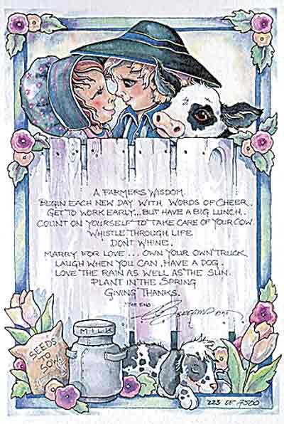 A Farmers Wisdom - DreamKeeper Prints