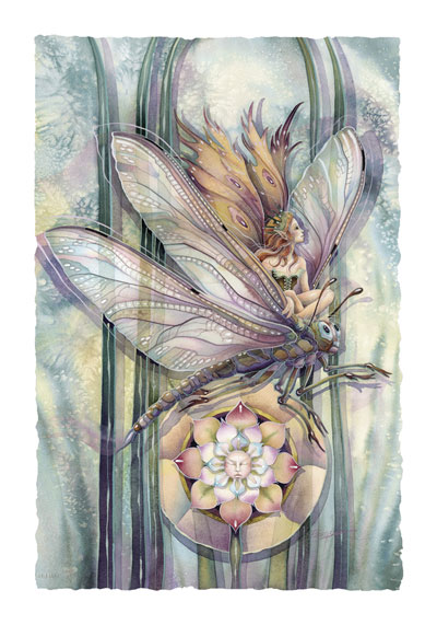 Faeries / Dragon Rider... The Greatest Success Is To Live Life In Your Own Way - Art Card