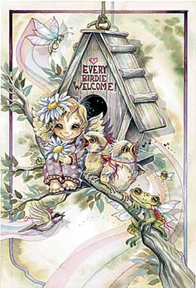 Every Birdie Welcome - Dreamkeeper Print