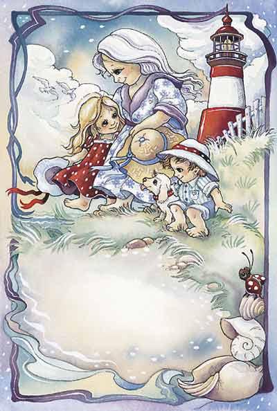 Grandchildren Are God's Reward... - DreamKeeper Print