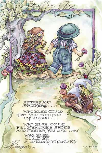 Sisters & Brothers... - DreamKeeper Prints