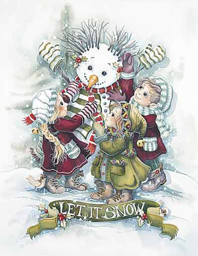 Let It Snow... - DreamKeeper Print