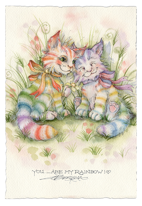 You... Are My Rainbow! - Greeting Card